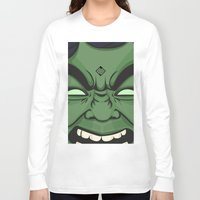 hulk Long Sleeve T-shirts featuring Hulk by illustrationsbynina