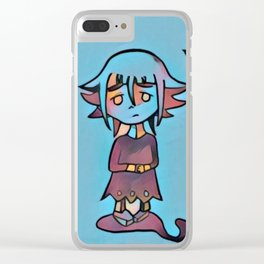 Everyone has their demons Clear iPhone Case