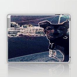 Min Pin on a boat Laptop & iPad Skin