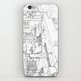 Little Cat's Journey iPhone Skin