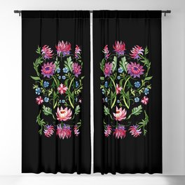 Medici Midnight Garden Renaissance Blackout Curtain