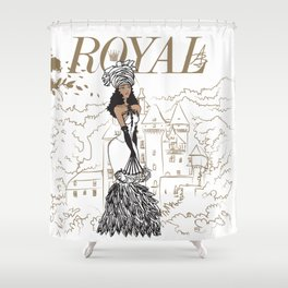 Kayla Royal Shower Curtain