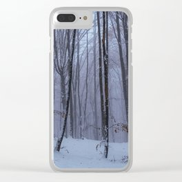 The perfect forest Clear iPhone Case