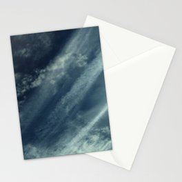 Cloud and sky 11 -cloud, sky, blue, positive,optimism Stationery Cards