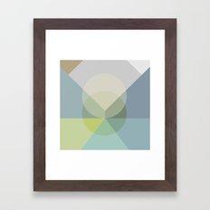 Pastel Play 2 Framed Art Print