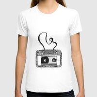 cassette T-shirts featuring Cassette by Virki