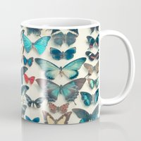 wings Mugs featuring Wings by Cassia Beck