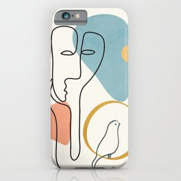 Abstract Faces 32 iPhone Case