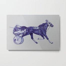 Sport Horses Metal Print