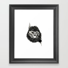 H3D93H09 (Hedgehog) Framed Art Print