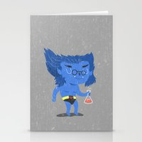 beast Stationery Cards featuring Beast by Rod Perich
