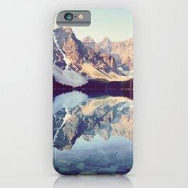 Moraine Lake Reflection iPhone Case