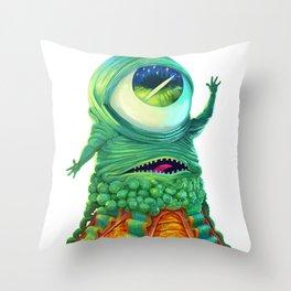 Alien (CY@) Throw Pillow