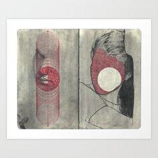 Obscure, Destroy Sketchbook Spread 4 Art Print