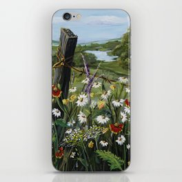 Wild Daisies iPhone Skin