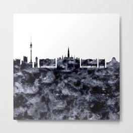 Vienna Skyline Austria Metal Print