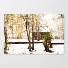 Hidden Winter Canvas Print
