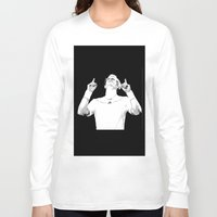 murray Long Sleeve T-shirts featuring Murray Victorious by Dropshot Dime Store