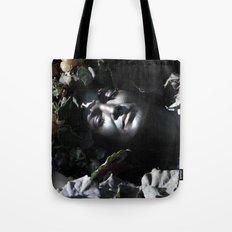 Wood Woman Tote Bag