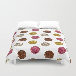 Pan Dulce (white bg) Duvet Cover
