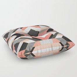Peach Deco 1 Floor Pillow