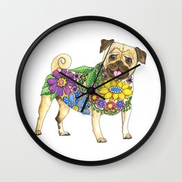 The Pugster Wall Clock