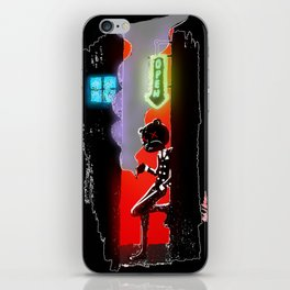 Back Alley Fuzz iPhone Skin