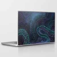kraken Laptop & iPad Skins featuring Kraken by Henri Scribner