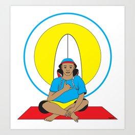 Surf Religion Art Print