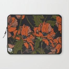 Autumnal flowering of poppies Laptop Sleeve