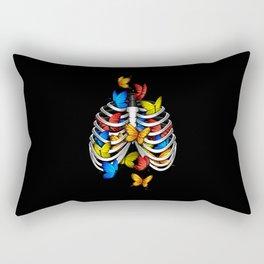 Butterflies in my stomach Rectangular Pillow