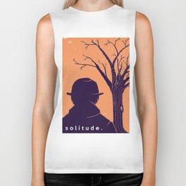 Solitude. Biker Tank