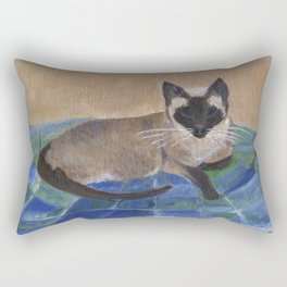 Siamese Napping Rectangular Pillow