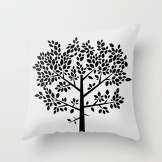 Tree Graphic 2 Throw Pillow