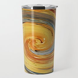 Swirl 03 - Colors of Rust / RostArt Travel Mug