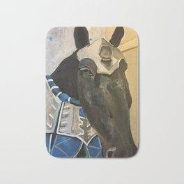 Abe; The Jousting Horse Bath Mat