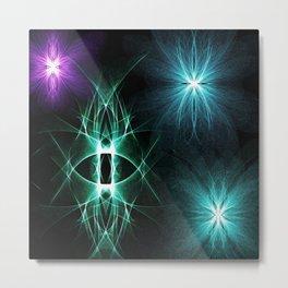Rhythmic Lights Metal Print