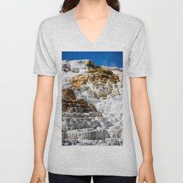 Yellowstone Salt Flat Unisex V-Neck