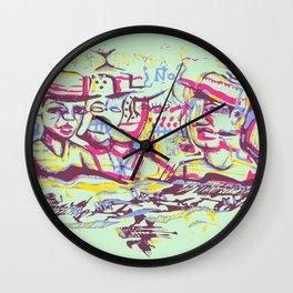 Os Goof Bros Wall Clock