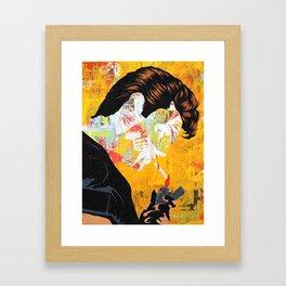 JOE COOL Framed Art Print