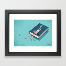 Relaxing Framed Art Print
