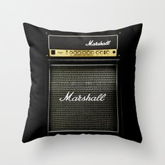 guitar electric amp amplifier iPhone 4 4s 5 5s 5c, ipod, ipad, tshirt, mugs and pillow case Throw Pillow