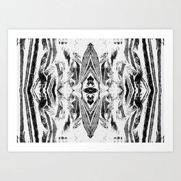 Psychofish Pattern Art Print