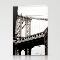 brooklyn Stationery Cards featuring Brooklyn by Miuk