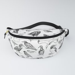 Manx Fauna - (British) Birds Fanny Pack