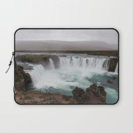 Godafoss waterfall in Iceland - nature landscape Laptop Sleeve