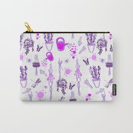Ultra violet sweet spring English garden Carry-All Pouch