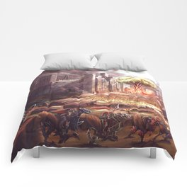 Armoured Chicken Charge Comforters