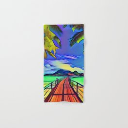 Going to Paradise Hand & Bath Towel