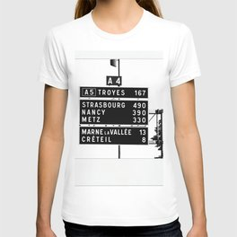 490 km to Strasbourg - The Polaroid Project T-shirt